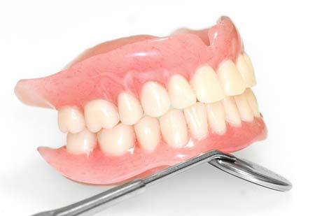 مراقبت های بعد از پروتز دندان